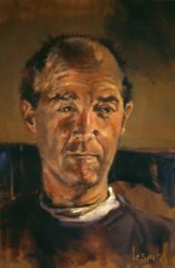 Richard, oil on canvas, 1999