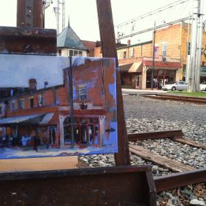 Lumina plein air painting, 2015 (4 of 4)
