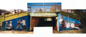 Pedestrian Tunnel, Appalachian State University 1997