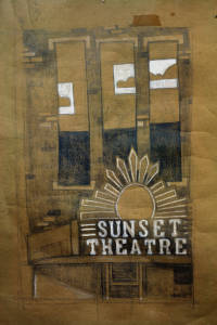 Sunset Theatre Illustration, 2011 (1 of 2)
