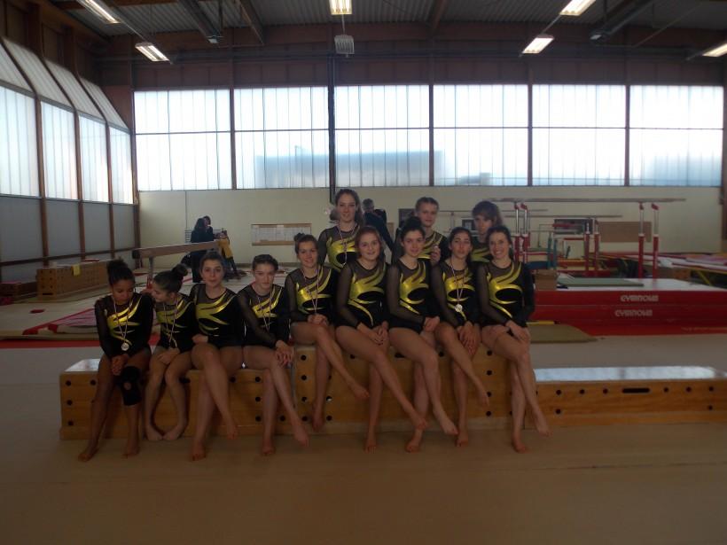 La gym féminine de la Bogue d'or