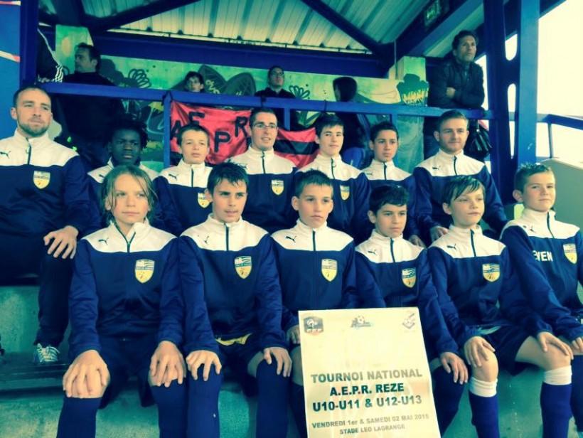 Les U13 ont réussi un magnifique parcours dans ce tournoi national