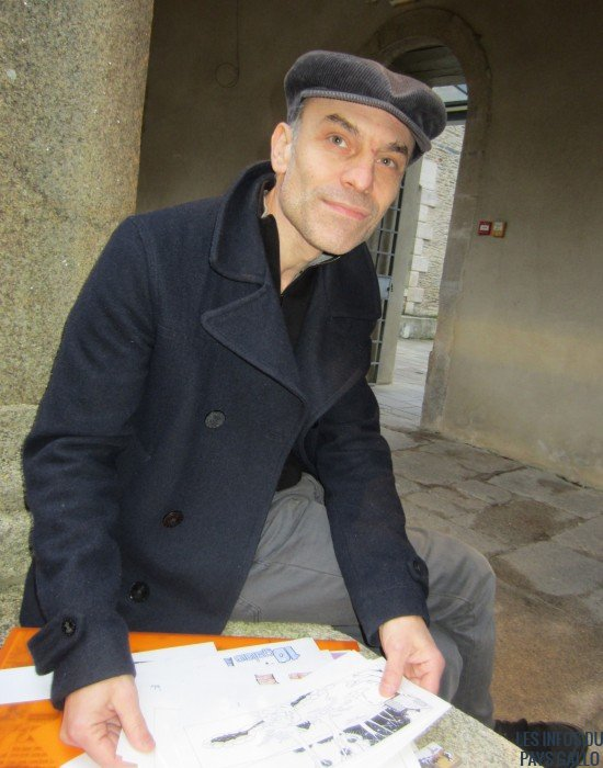 Luis Liberti, alias Lucho, dessinateur.