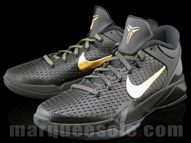 Nike Zoom Kobe VII Elite BlackGold Le Site De La Sneaker