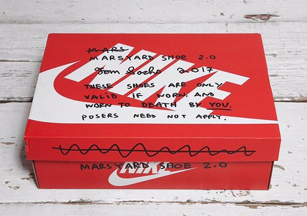 Tom Sachs X Nike Mars Yard 20 Le Site De La Sneaker
