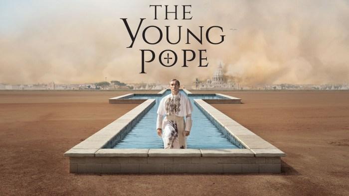 Affiche de la série the young pope