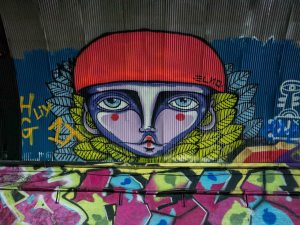 Street-art-Londres-Leake-street-tunnel-Elno