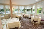 Hotel restaurant Belle Isle sur Risle salle de restaurant rotonde