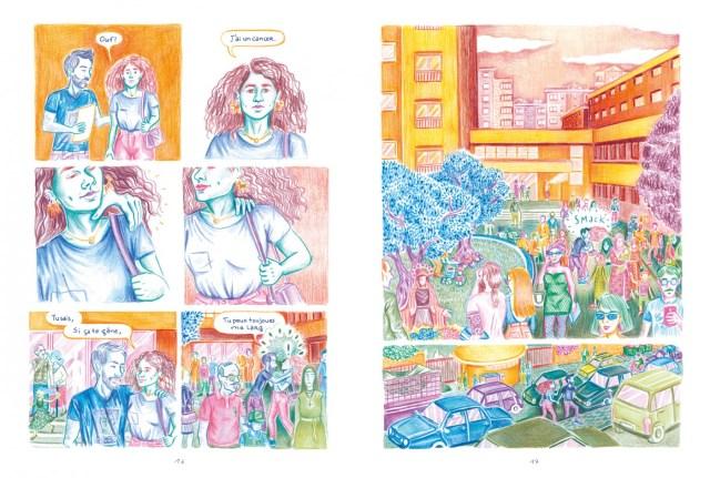 Pages 16 et 17 de l'album De l'importance du poil de nez  de Noémie