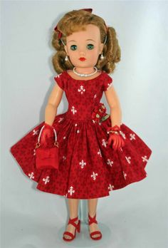 Dolls Antique (pre-1930) Robe De Poupée Caprice Non-Ironing