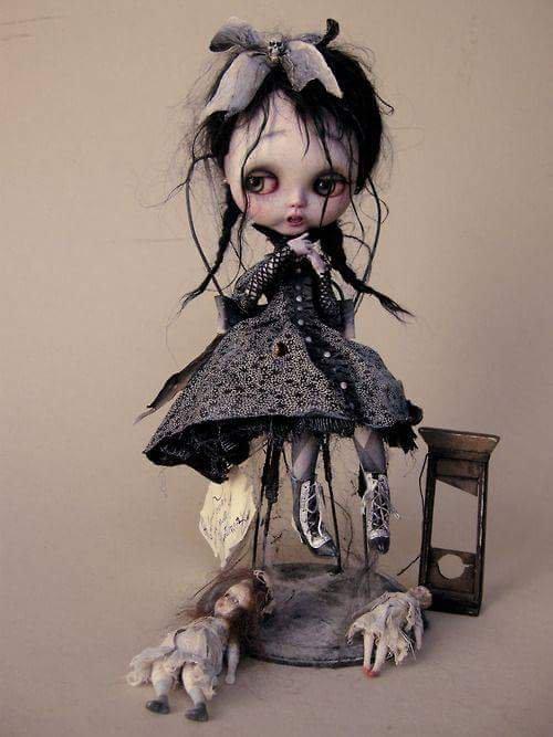Julien Martinez artiste en poupées et miniaturiste