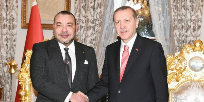 Erdogan a envoyé un message au roi Mohammed VI