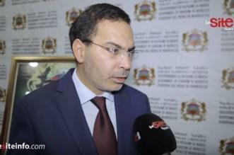 El Khalfi a répondu à une question sur le remaniement ministériel