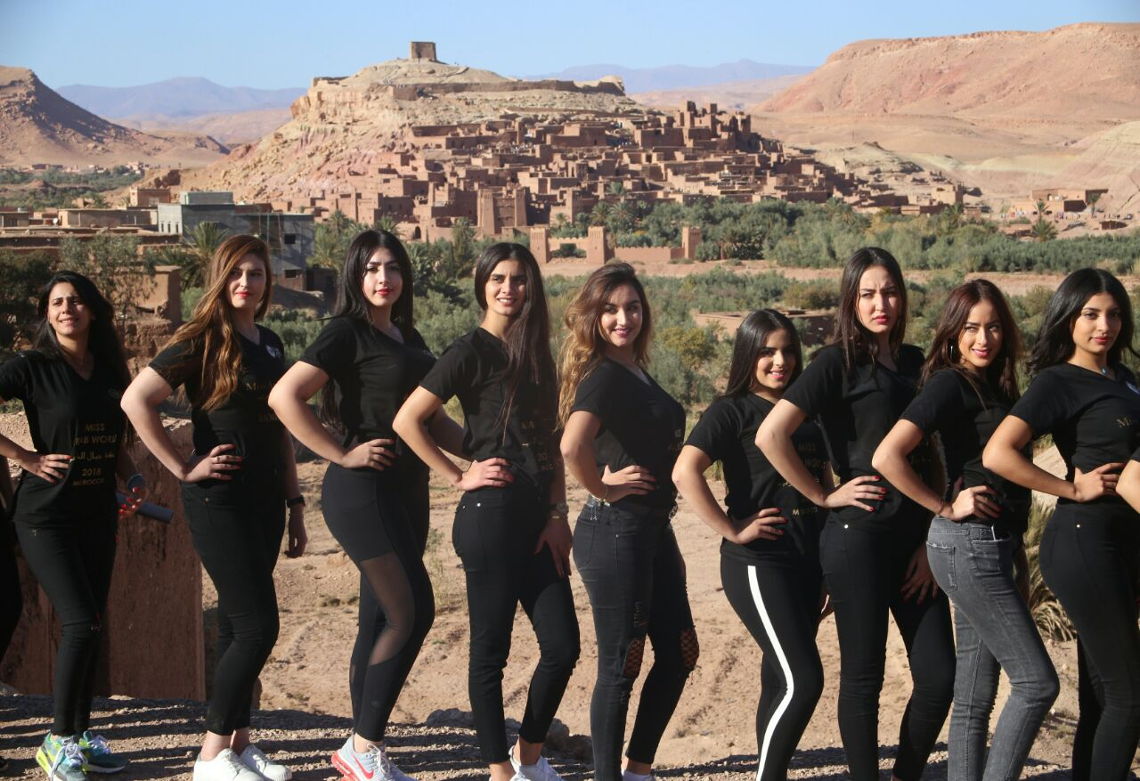 D 233 Couvrez La Nouvelle Miss Arab World Morocco Photos Et
