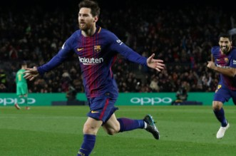 Barça: 30e but de la saison pour Messi (VIDEO)