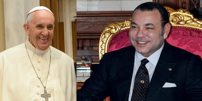 Une visite officielle du pape François prévue en mars prochain — Maroc