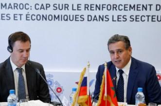 Aziz Akhannouch a rencontré son homologue russe