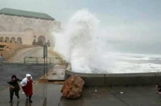 Le Maroc sera-t-il touché par l'ouragan Leslie ?