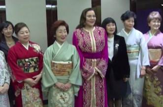 En vidéo: La réception offerte par Lalla Hasnaa à des leaders japonaises