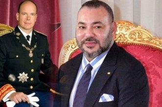 Albert II et Charlène de Monaco ont reçu un message du roi Mohammed VI
