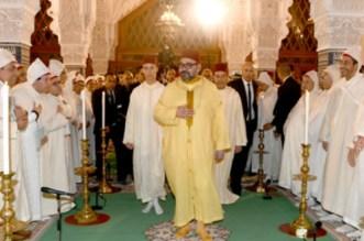 Rabat: le roi Mohammed VI a présidé une veillée religieuse (VIDEO)