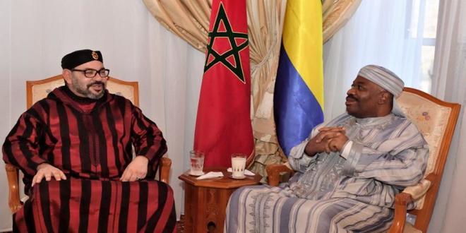 Ali Bongo remercie le roi Mohammed VI