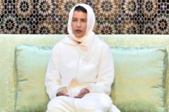 Rabat: Lalla Meryem était à la mosquée Lalla Soukaïna