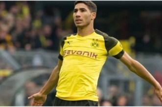 Superbe but d'Achraf Hakimi avec le Borussia (VIDÉO)