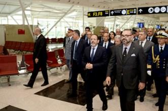 Le roi Mohammed VI était à l'aéroport de Casablanca