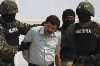 "Le baron de la drogue ""El Chapo"" déclaré coupable"
