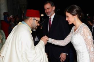Le cadeau de Mohammed VI à la reine Letizia fait les choux gras de la presse espagnole