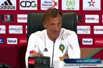 La conférence de presse d'Hervé Renard avant Maroc-Argentine (VIDEO)