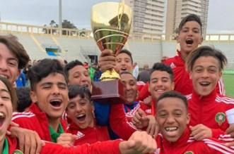 U15: le Maroc remporte le tournoi de l'UNAF en Algérie