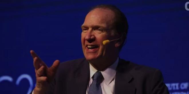 Le nouveau président bientôt en fonction — Banque mondiale
