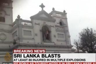 Explosions au Sri Lanka: le bilan continue de grimper
