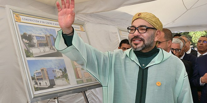 Casablanca: le roi Mohammed VI inaugure un Centre médical à Sidi Moumen
