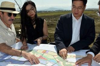Tanger: une délégation chinoise au chantier de la Cité Mohammed VI