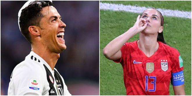 Alex Morgan s'acharne sur Cristiano Ronaldo