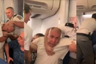Roumanie: une famille égypto-marocaine violemment expulsée d'un avion (VIDEO)