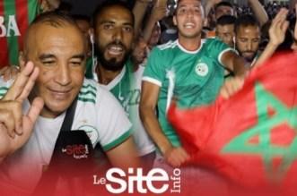 Saïdia: la joie des Marocains après le sacre de l'Algérie (VIDEO)