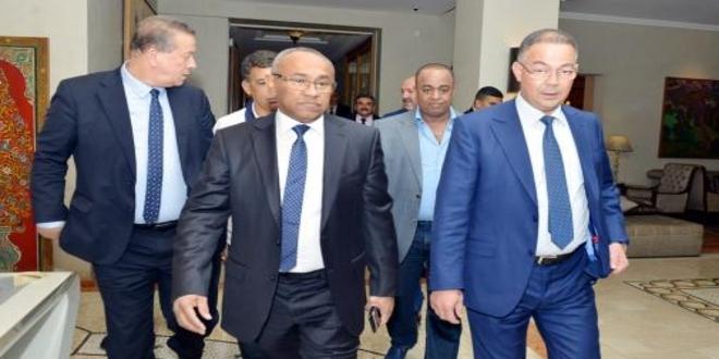 Eto'o et Drogba, les nouveaux bras droits d'Ahmad Ahmad