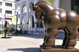 Le Cheval du grand maître colombien Botero est à Rabat