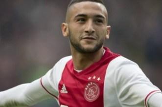 Ajax: coup dur pour Hakim Ziyech