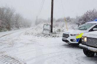Alerte rouge pour risques extrêmes: fortes chutes de neige en Espagne