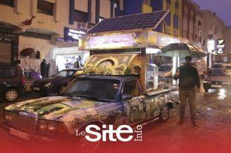 Fès: il équipe sa voiture et devient vendeur d'escargots (VIDEO)