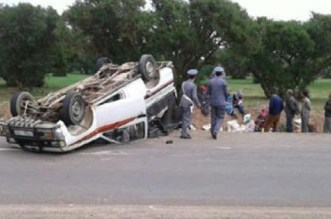 Plusieurs blessés dans le renversement d'un pick-up aux environs de Béni Mellal