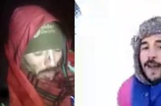 En vidéo: comment deux jeunes marocains ont été sauvés dans les montagnes