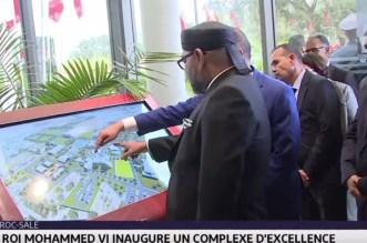 Zoom sur le Complexe Mohammed VI de Football inauguré ce lundi par le roi (VIDEO)