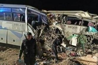 Drame en Algérie: 12 morts et 46 blessés dans un accident de bus