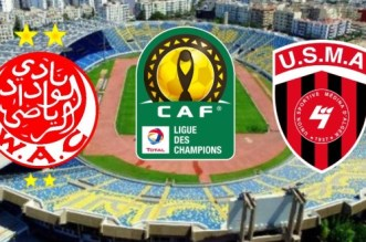 Wydad-USMA: suivez le match en direct (Champions League)